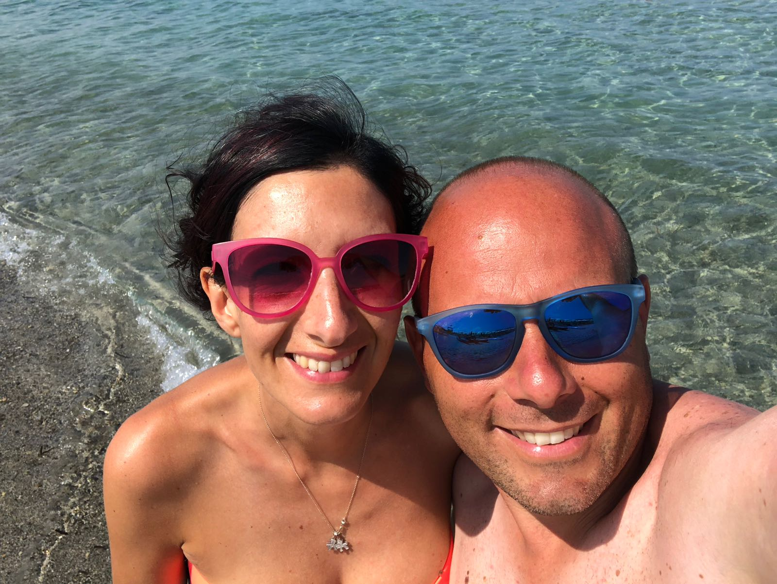 Fabio, Marta, Alessio e Andrea Nicolaus Club Villaggio Baia dei Pini dal 4 all'11 agosto 2018. #concorsofotograficoviaggicarmen2018