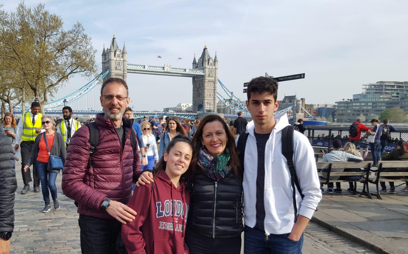 Fabrizio e famiglia a Londra da 17 al 20 aprile 2019 #concorsofotograficoviaggicarmen2019
