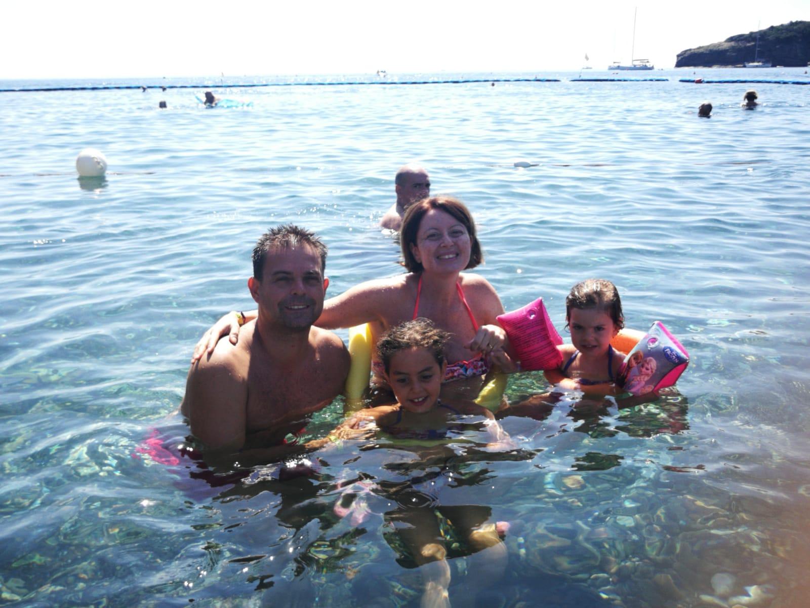 Giuliano, Maria, Sofia e Clara all'Elba – Ortano Mare dal 3 al 10 agosto 2019. #ConcorsoFotograficoViaggiCarmen2019