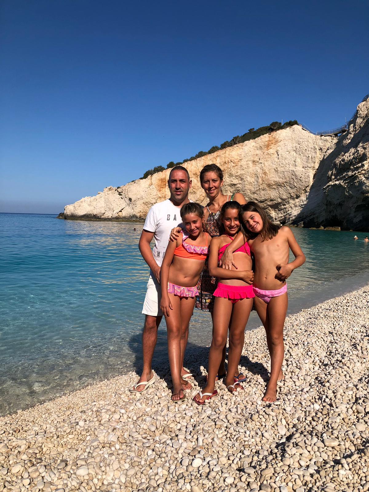 Andrea, Lara, Rachele, Veronica e Carlotta a Lefkada al 6 al 13 agosto 2019. #ConcorsoFotograficoViaggiCarmen2019
