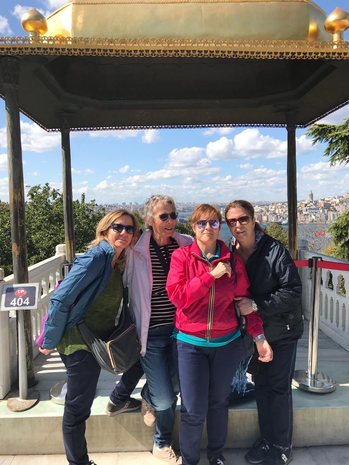 Aida, Cinzia, Lucia e Patrizia a Istanbul dal 20 al 22 settembre 2019. #ConcorsoFotograficoViaggiCarmen2019