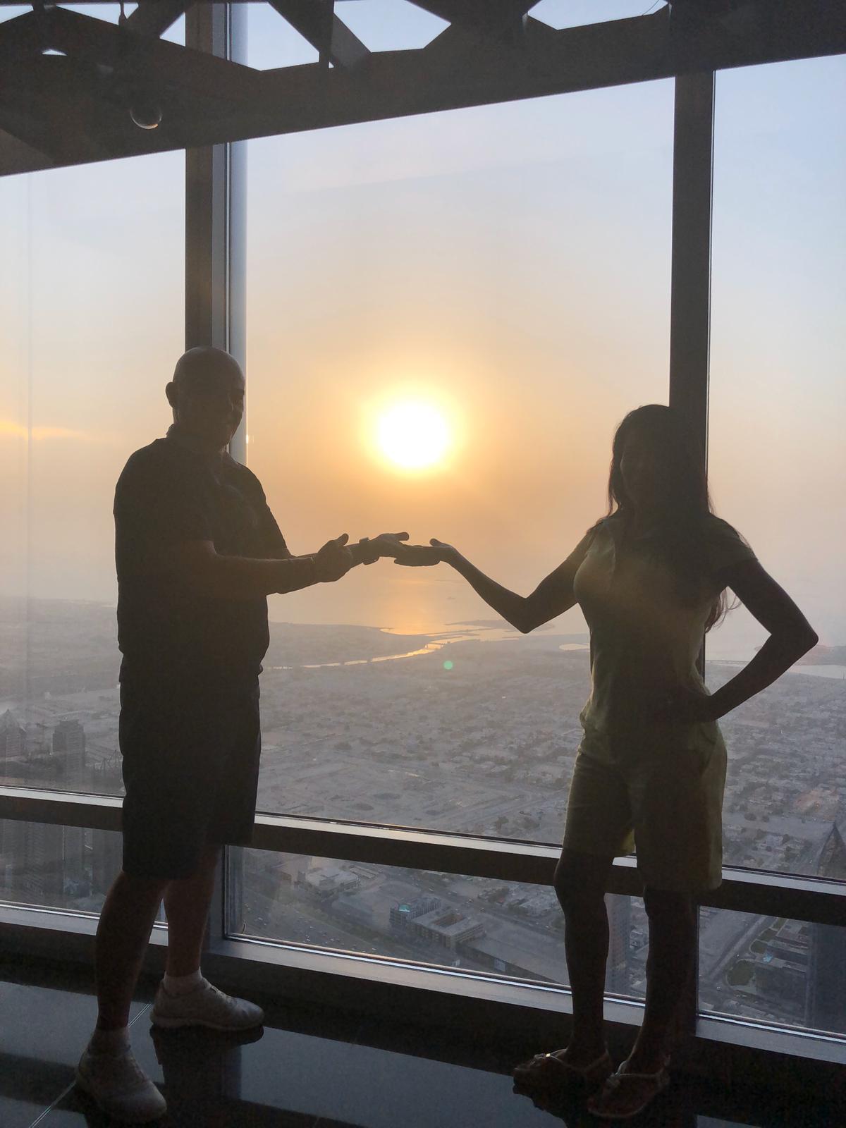 Marco e Maritza a Dubai dal 24 al 29 settembre 2019. #ConcorsoFotograficoViaggiCarmen2019