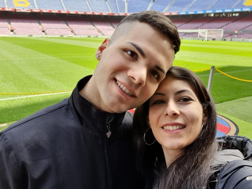 Martina e Andrea a Barcellona dal 28 febbraio al 3 marzo 2020. #ConcorsoFotograficoViaggiCarmen2020